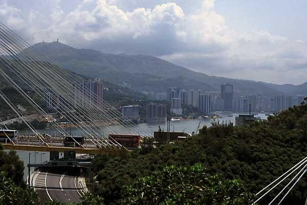 Ting Kau Brücke